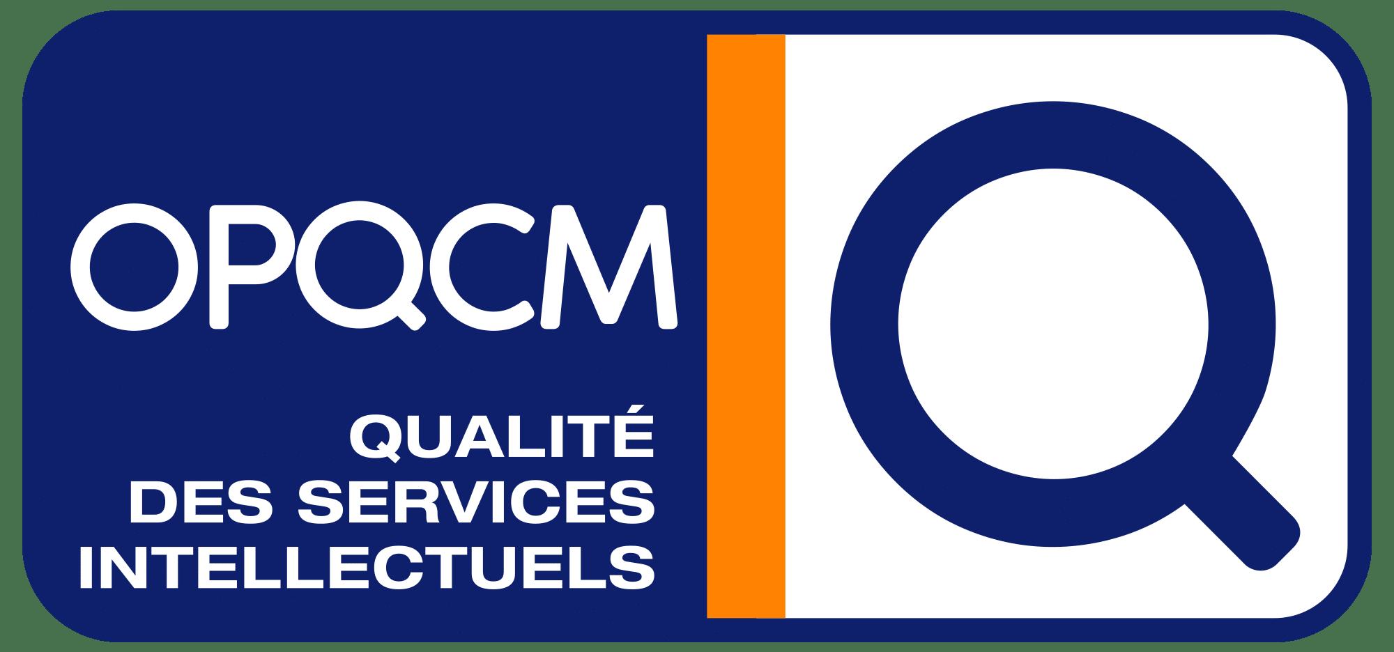 qualifié OPQCM pour les domaines finances et assurances
